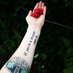 Read 'Em and Weep! 49 Tattoos Inspired by Famous Books: The things we read in the books we love often stay with us for a long time, but for some, they stay forever — literally.