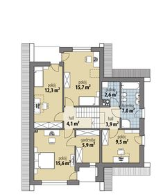 Elsa III House Plans, Floor Plans, House Design, Two Story Houses, Projects, House Floor Plans, Architecture Design, Home Design, Floor Plan Drawing