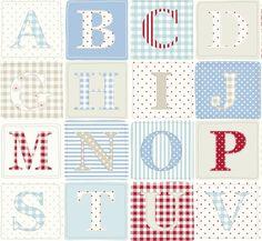 Fryett's Fabrics: ABC - at Grace & Favour Fabrics now x