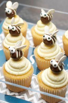 Bee Cupcake Ideas #PersonalizationInspiration #Ad @PCGifts