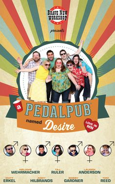 REVIEW & TICKET GIVEAWAY: A Pedal Pub Named Desire - phenoMNal twin cities