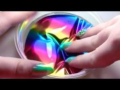Rainbow Slime ASMR - Satisfying Slime ASMR Video #6!! - YouTube