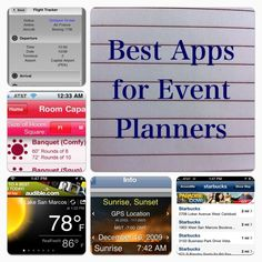 Event Planinng must have apps