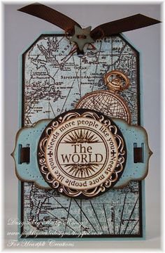Masculine Tag - made with Heartfelt Creations stamps, designer papers and dies from the Celebrate the Journey Collection.