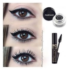 Security Check Required, The 10 Best Eye Makeup Today (with Pictures) - Gel Eyeliner and Ultra Starlook Mascara stance since he Eyeliner does not c. Winged Eyeliner Tutorial, Winged Liner, Simple Eyeliner, Gel Eyeliner, Farmasi Cosmetics, Eyeshadow For Green Eyes, Eyeshadow Palette, Makeup Mistakes, Makeup Trends