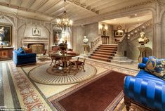 Who would live in a house like this? The New York townhouse's asking price is a record-breaking $90million