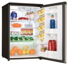 capacity all fridge Appliance Reviews, Refrigerator Without Freezer, Compact Refrigerator, Wire Shelving, Shelves, Mini Fridge, Small Appliances, Hot Sauce Bottles, Shelving