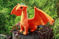 It took me 8 years to get to the point where I can write crochet patterns for other people to follow. This particular dragon pattern took me five months to design, and now that the pattern has been published, I can't wait to see what new dragons are born into this world because of it!