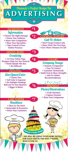 Pinnacle Advertising Tips – Infographic Advertising Strategies, Marketing And Advertising, Digital Marketing, Advertising Ideas, Advertising Campaign, Advertising Design, Business Professional, Business Help, Business Ideas