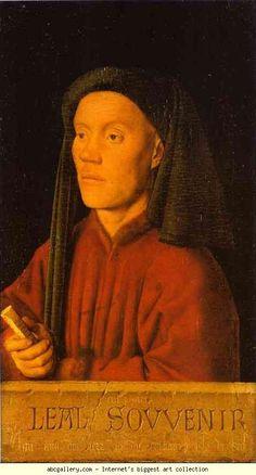Jan van Eyck. Portrait of a Young Man. Olgas Gallery.