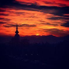 .@haubentaucherat (wolfgang) 's Instagram photos   Webstagram - the best Instagram viewer Clouds, Good Things, Celestial, Sunset, Photos, Outdoor, Instagram, Outdoors, Pictures
