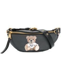 $595 Moschino teddy bear belt bag