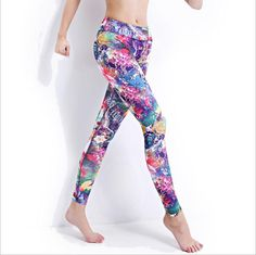 Find More Yoga Pants Information about Women Italian printing technology Sports Yoga Pants Elastic Compression Tights Running Leggings Calzas Deportivas Mujer,High Quality pants diaper,China pants sport Suppliers, Cheap tight romper from Snow Tech on Aliexpress.com