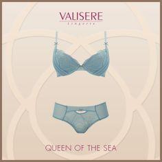 Valisere - QUEEN OF THE SEA #Valisere #Lingerie #Dessous #sexy #Unterwaesche