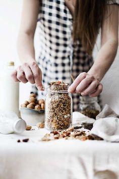 ... no bake homemade granola ...