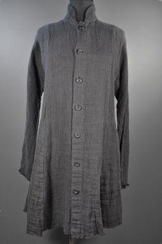 Eskandar - Linen Long Persian Jacket