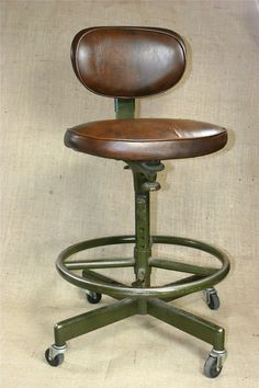 Antiques Cooperative Tall Edwardian Antique Bar Stool Benches/stools Delicacies Loved By All