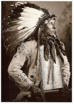 Indian Postcards | Kicks Iron, Dakota Sioux Photograph by F.… | Flickr