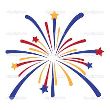Image result for cartoon fireworks