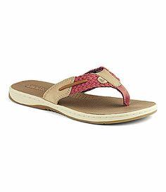 6a36887558ba Sperry TopSider Parrotfish Sandals  Dillards Sperry Sandals