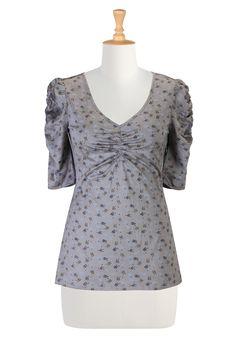 Shop women's fashion clothing - Long Tunic Tops, Women's Tops, Fashion Tops, Plus Size Tops | | eShakti.com