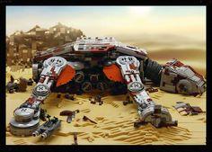 HabitAT-AT LEGO Star Wars the Force Awakens. Awesome! #lego #starwars #starwarsvii #toys #brinquedos