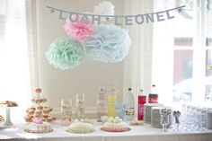 Silver Penny, Naming Ceremony, Fika, Something Old, 2nd Birthday Parties, Save The Date, Table Decorations, Inspiration, Cupcakes