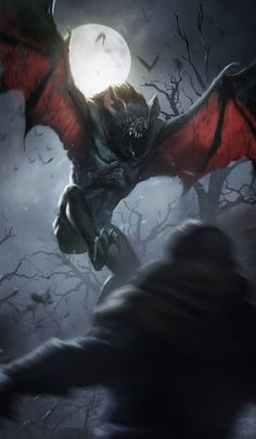 The Witcher/ Regis: Higher Vampire/ Gwent Card/ Neutral Dark Creatures, Creatures Of The Night, Mythical Creatures, Monster Art, Fantasy Monster, Monster Hunter, Dark Fantasy Art, Fantasy Artwork, Witcher Art