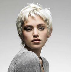 16 graue kurze Frisuren und Haarschnitte für Frauen 2018