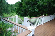 timbertech deck | Timbertech decking lights and railing
