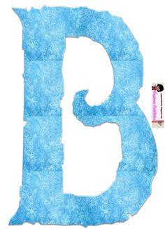 EUGENIA - KATIA ARTES - BLOG DE LETRAS PERSONALIZADAS E ALGUMAS COISINHAS: Alfabeto FROZEN 2