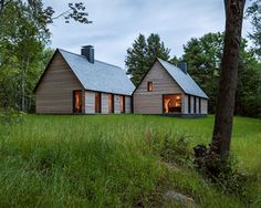 2015 Housing Awards: One- and Two-Family Custom Residences, Marlboro Music Five Cottages designed by HGA Architects and Engineers