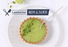 Kage med lækker, syrligsød limecurd   Bobedre.dk