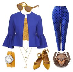 """Beast"" by smilesmakesunshine on Polyvore featuring Miguelina, Versace, Topshop and Tom Ford"