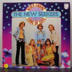 The New Seekers - United Kingdom - Place 2 Bubblegum Pop, Vinyl Records, United Kingdom, Songs, Baseball Cards, Children, Young Children, Boys, Kids