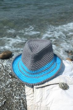 Summer Fedora Hat For Baby Toddler Boys Shower Gift by milazshop