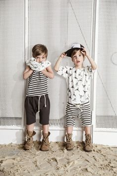 Kloo by Booso SS15 - Cool kids fashion from Poland