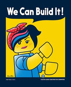 """WE CAN BUILD IT!"" Photographic Prints by DREWWISE 