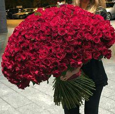 Bouquet of Roses Luxury Flowers, My Flower, Flowers In Hair, Beautiful Flowers, Wedding Flowers, Romantic Flowers, Good Morning Flowers, Flower Boxes, Rose Bouquet