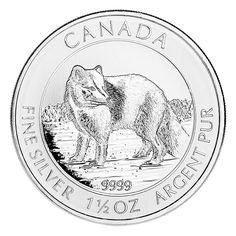 Canadian Silver Coins The Wildlife Series - Any wildlife over will be deeply satisfied with any of these beautiful coins from the Canadian Wildlife Series.