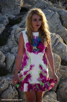 Dress inspired by glass - Wioletta Maciejowska/Violin Fashion Designer / Blog : Fashion-utopia.com
