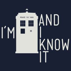Sorry non-whovians, you don't get the reference.