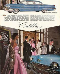 1956 Cadillac Ad -- San Francisco Symphony Orchestra
