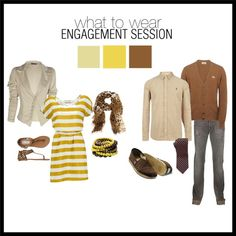 """""""Neutrals: What to Wear for Engagement Pictures"""" by kassidybaker on Polyvore"""