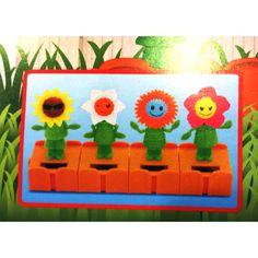 Shop Cute Face Solar Powered Flip Flop SuNflower Plant Pot Swing 4 Pcs at Balli Gifts USA. Free Shipping order $39.99+ USA