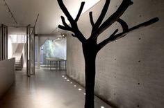 Concrete shell. Austere, urbane gray. Minimalist Studio Palette #design inspirations.