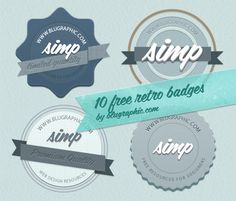 Free Vintage and Retro Labels and Badges
