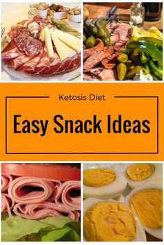 Keto Diet Snacks. Quick and Easy Low Carb Snack List.