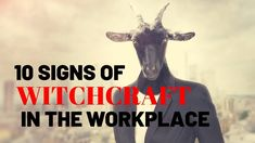 10 Signs of Witchcraft in the Workplace - Prayer to Break Witchcraft Attacking you - YouTube