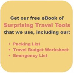 Travel More Roads | 17 Surprisingly Helpful Travel Tools
